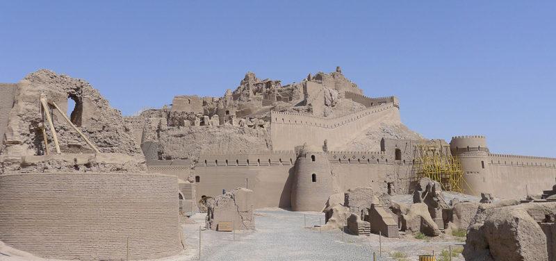 The citadel now Arg-e-Bam