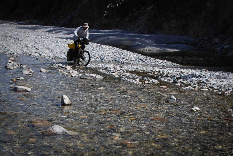 Riverbed riding