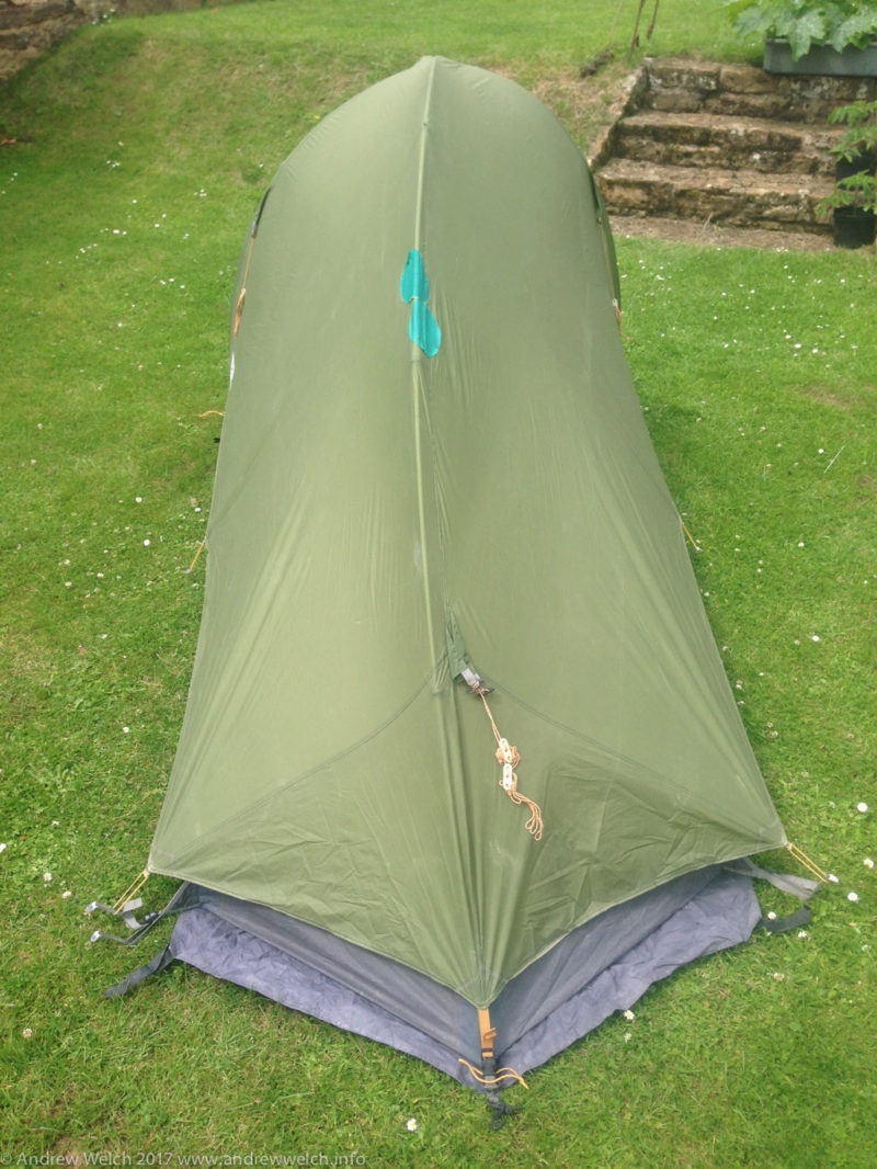 Vaude Hogan Ultralight back view